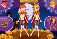 Halloween Devil Twins