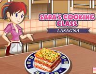 Lasagna:Sara's Cooking Class